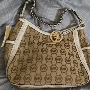 Michael Kors Monogram Jacquard bag